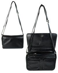 Exclusive to Begg Shoes Handbags - Black - 9233/30 AS 9233 M FLAP