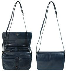 Exclusive to Begg Shoes Handbags - Navy - 9233/70 AS 9233 M FLAP