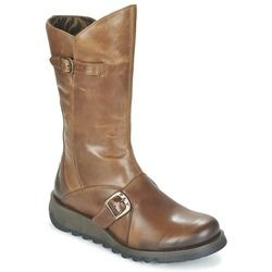 Fly London Boots - Ankle - Tan - P142913 MES 2