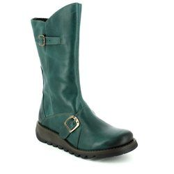 Fly London Boots - Ankle - Petrol blue - P142913 MES 2