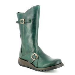 Fly London Ankle Boots - Petrol leather - P142913 MES 2