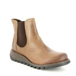 Fly London Chelsea Boots - Camel - P143195 SALV