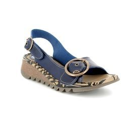 Fly London Sandals - Navy - P500723 TRAM 723