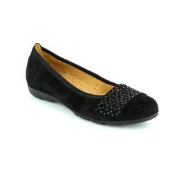 Gabor Pumps - Black suede - 64.160.17 ACTIVE 2
