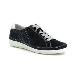 Gabor Trainers - Navy suede - 86.458.36 AMULET