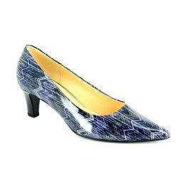 Gabor Heeled Shoes - Blue multi - 51.250.96 ARNICA 2