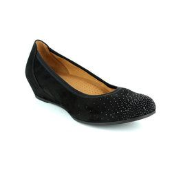 Gabor Pumps - Black suede - 62.694.47 ARYA