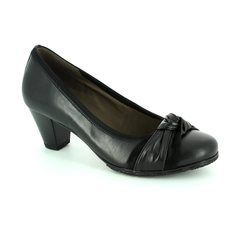 Gabor Court Shoes - Black - 55.491.27 BORROWDALE