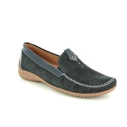 Gabor Loafer / Moccasin - Navy patent - 26.090.26 CALIFORNIA