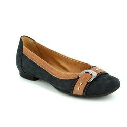 Gabor Pumps - Navy/tan - 44.113.16 MONTANA INDI