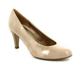 Gabor Heeled Shoes - Nude Patent - 85.210.72 Lavender
