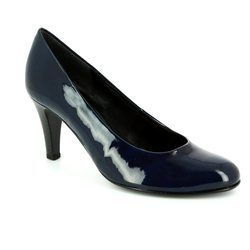 Gabor Court Shoes - Navy patent - 45.210.76 OPERATOR