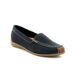 Gabor Loafer / Moccasin - Navy/tan - 83.260.16 LOIS