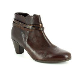Gabor Boots - Ankle - Brown - 55.611.58 SOLERO
