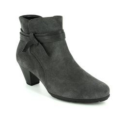 Gabor Boots - Ankle - Grey suede - 75.642.39 TIFFEY
