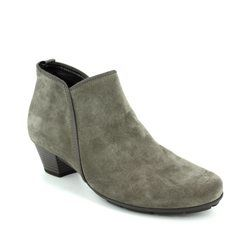 Gabor Boots - Ankle - Taupe suede - 75.633.13 TRUDY