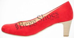 Gabor Court Shoes - Red suede - 85.200.35 VESTA 3