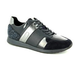 Geox Trainers & Canvas - Navy - D746FD/C4174 DEYNNA D