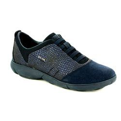 Geox Trainers & Canvas - Navy - D741EA/C4002 NEBULA A
