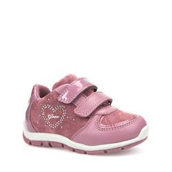 Geox Girls 1st Shoes & Prewalkers - Pink - B7433A/C8006 SHAAX A