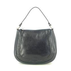 Gianni Conti Handbags - Navy leather - 9416132/43 PERVINCA