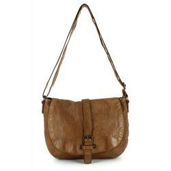 Gianni Conti Handbags - Tan Leather  - 4203513/25 SADDLE BAG
