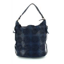 Gianni Conti Handbags - Blue - 4303354/43 SLOUCHY