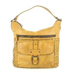 Gianni Conti Handbags - Yellow - 4594780/702 LUGANO INTER