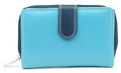 Golunski Purses & Wallets                        - Blue multi - 0304/70 3-04 LADIES WALLET PURSE