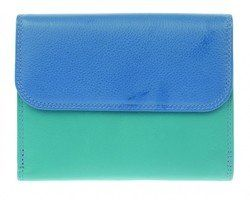 Golunski Purses & Wallets                        - Blue multi - 2901/70 C-2901 TAB WALLET
