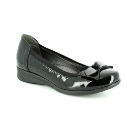 Heavenly Feet Pumps & Ballerinas - Black patent - 7225/40 ANNABEL