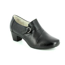 Heavenly Feet Heeled Shoes - Black - 7219/30 COLORADO 4