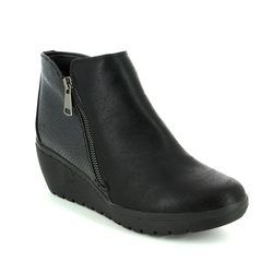Heavenly Feet Boots - Short - Black - 7208/30 DONEGAL