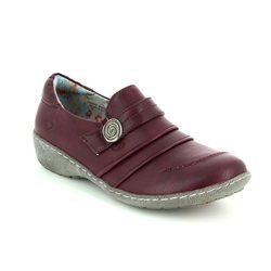 Heavenly Feet Comfort Shoes - PLUM - 7203/80 HOSTA 4