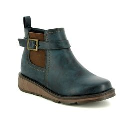Heavenly Feet Boots - Ankle - Navy - 8509/70 KENDAL