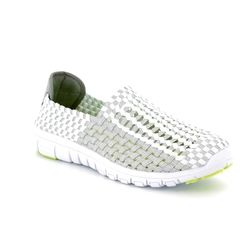 Heavenly Feet Trainers - White multi - 7001/60 LIZZY