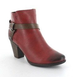 Heavenly Feet Boots - Ankle - Red - 3003/80 MANGO