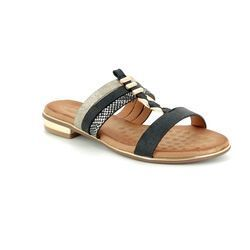 Heavenly Feet Sandals - Black - 8113/30 MARIGOLD