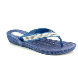 Heavenly Feet Sandals - Navy - 5003/70 MARTINI