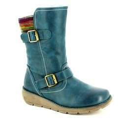 Heavenly Feet Boots - Short - Teal blue - 7211/70 PACIFIC 2
