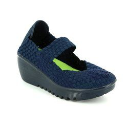 Heavenly Feet Trainers & Canvas - Navy - 7014/70 RAINBOW