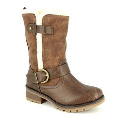 Heavenly Feet Boots - Short - Chocolate brown - 7212/20 RAPORT