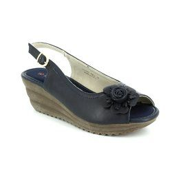 Heavenly Feet Sandals - Navy - 7009/70 RENEE