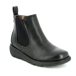 Heavenly Feet Chelsea Boots - Black - 7213/30 ROLO