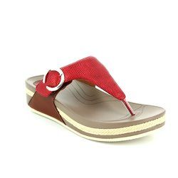 Heavenly Feet Sandals - Red - 7010/80 ROXY