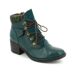 Heavenly Feet Boots - Ankle - Teal blue - 7214/70 SCAVA