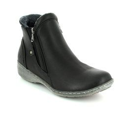 Heavenly Feet Boots - Ankle - Black - 7216/30 VENICE