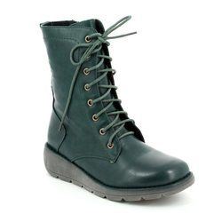 Heavenly Feet Boots - Ankle - Teal blue - 7217/70 WALKER 2