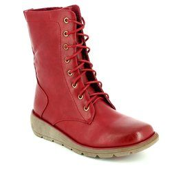 Heavenly Feet Boots - Ankle - Red - 7217/80 WALKER 2