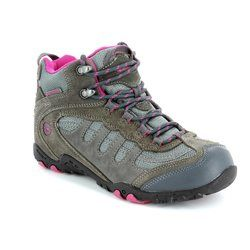 Hi-Tec Walking Boots - Grey - 2129/00 L PENRITH MID